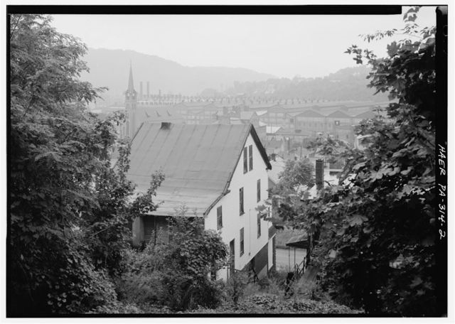Cambria Iron Company, Gautier Works, Clifton Street & Little Conemaugh River, Johnstown, Cambria County, PA
