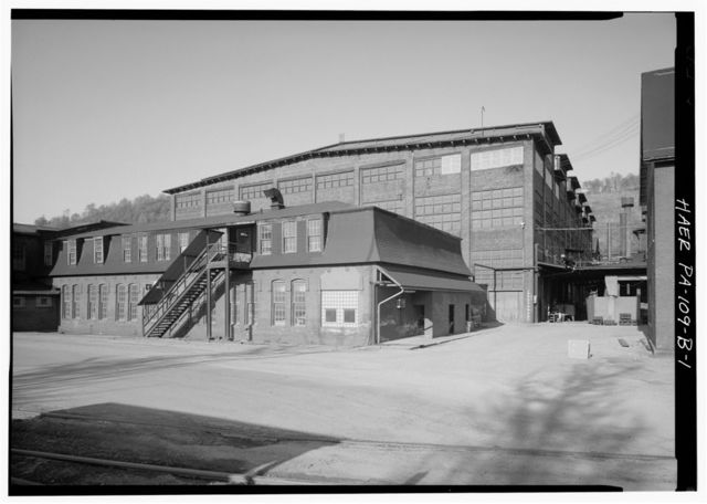 Cambria Iron Company, Pattern Shop, Lower Works, Johnstown, Cambria County, PA
