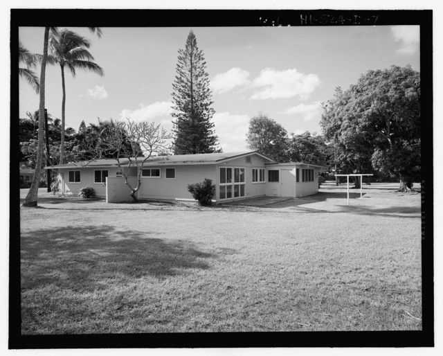 Camp H.M. Smith and Navy Public Works Center Manana Title VII (Capehart) Housing, Four-Bedroom, Single-Family Type 10, Birch Circle, Elm Drive, Elm Circle, and Date Drive, Pearl City, Honolulu County, HI