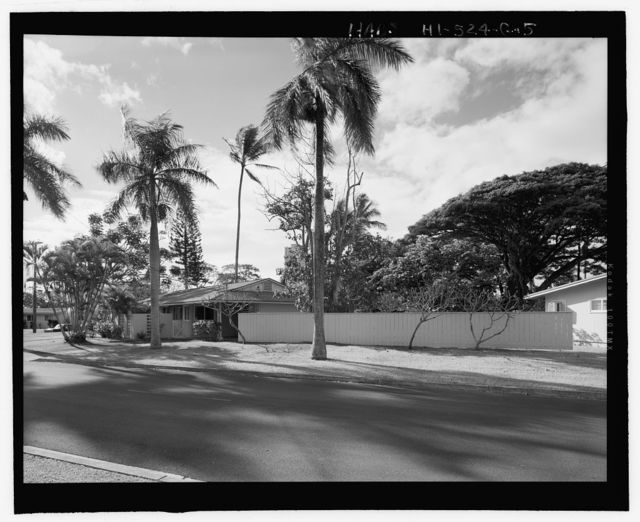 Camp H.M. Smith and Navy Public Works Center Manana Title VII (Capehart) Housing, Three-Bedroom Single-Family Type 7, Birch Circle, Elm Drive, Elm Circle, and Date Drive, Pearl City, Honolulu County, HI