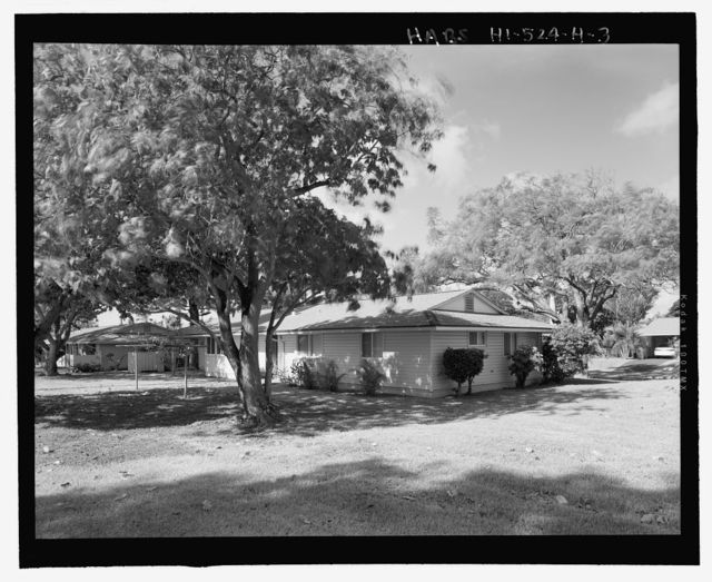 Camp H.M. Smith and Navy Public Works Center Manana Title VII (Capehart) Housing, Three-Bedroom Single-Family Type 9, Birch Circle, Elm Drive, Elm Circle, and Date Drive, Pearl City, Honolulu County, HI