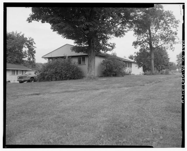 Camp Hofnung, Dormitory No. 1, Old Easton Road at Tohickon Creek, Pipersville, Bucks County, PA
