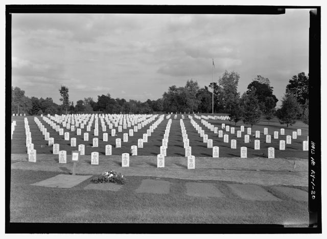 Camp Nelson National Cemetery, 6980 Danville Road, Nicholasville, Jessamine County, KY
