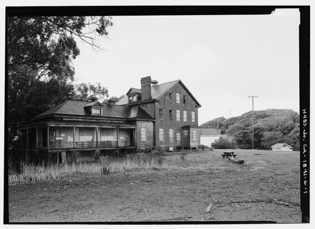 Camp Reynolds, Hospital, Angel Island State Park, Angel Island, Marin County, CA