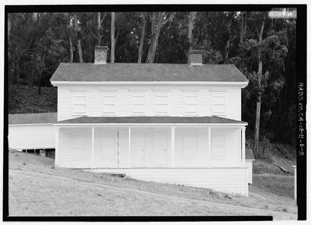 Camp Reynolds, Officers' Quarters, Angel Island State Park, Angel Island, Marin County, CA