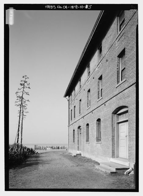 Camp Reynolds, Quartermaster Storehouse, Angel Island State Park, Angel Island, Marin County, CA