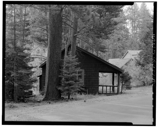 Camp Richardson Resort, Cord Cabin, U.S. Highway 89, 3 miles west of State Highway 50 & 89, South Lake Tahoe, El Dorado County, CA