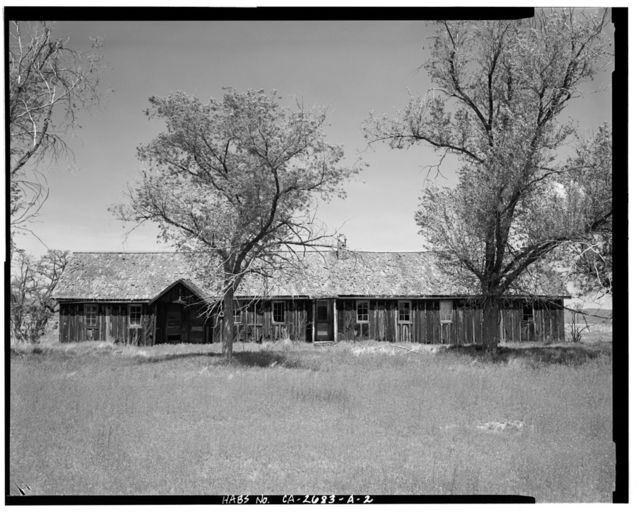 Camp Tulelake, Mess Hall, West Side of Hill Road, 2 miles South of State Highway 161, Tulelake, Siskiyou County, CA