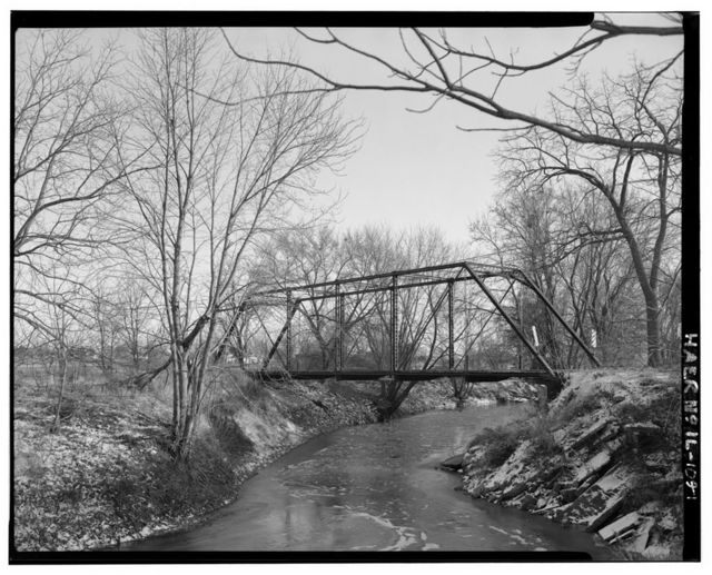 Campbell Bridge, Spanning Cedar Creek at Sumner Township Road 22, Little York, Warren County, IL