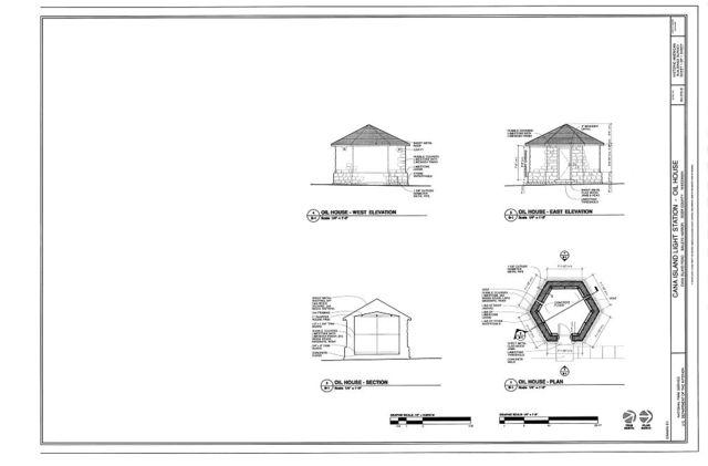 Cana island Light Station, Oil House, Cana Island Road, Baileys Harbor, Door County, WI