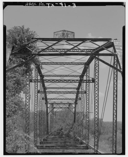 Canadian River Wagon Bridge, Spanning Canadian River West of U.S. Route 60, Canadian, Hemphill County, TX