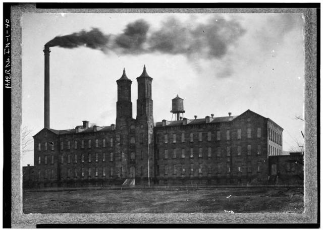 Cannelton Cotton Mill, Front & Fourth Streets, Cannelton, Perry County, IN