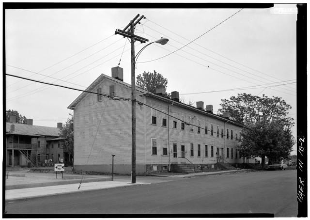 Cannelton Cotton Mill, Worker's Housing Type A, Fourth Street, Cannelton, Perry County, IN