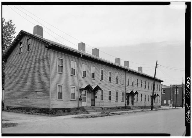 Cannelton Cotton Mill, Worker's Housing Type B, Fifth Street, Cannelton, Perry County, IN
