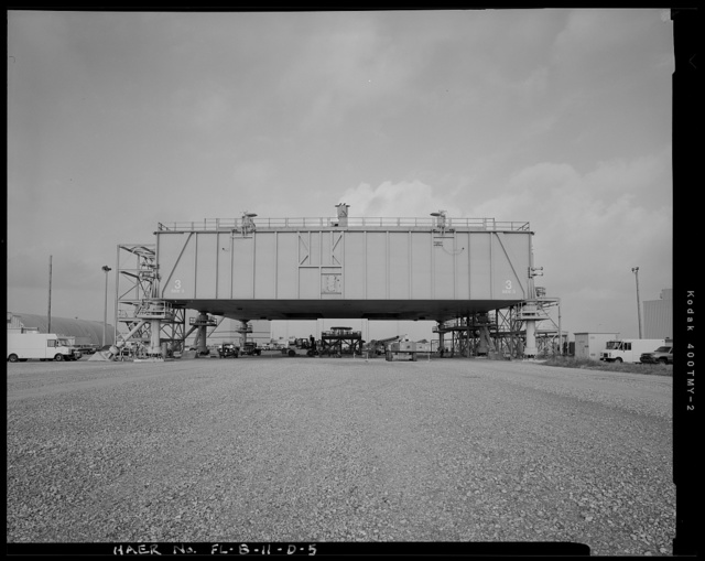 Cape Canaveral Air Force Station, Launch Complex 39, Mobile Launcher Platforms, Launcher Road, East of Kennedy Parkway North, Cape Canaveral, Brevard County, FL