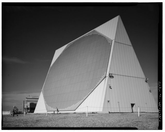 Cape Cod Air Station, Technical Facility-Scanner Building & Power Plant, Massachusetts Military Reservation, Sandwich, Barnstable County, MA