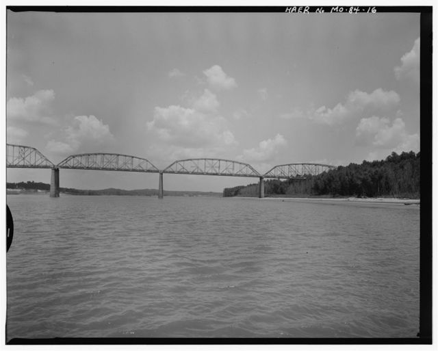 Cape Girardeau Bridge, Spanning Mississippi River at State Highway 146, Cape Girardeau, Cape Girardeau County, MO