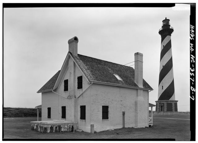 Cape Hatteras Lighthouse, Principal Keeper's Dwelling, Point of Cape Hatteras, Access Road from Route 12, Buxton, Dare County, NC