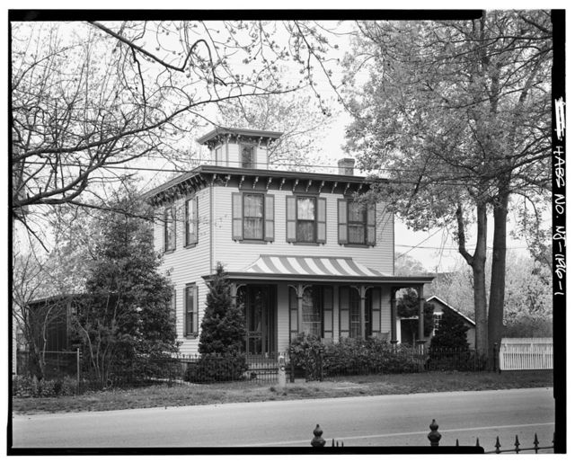 Captain Isaac Peterson House, Front Street, Mauricetown, Cumberland County, NJ