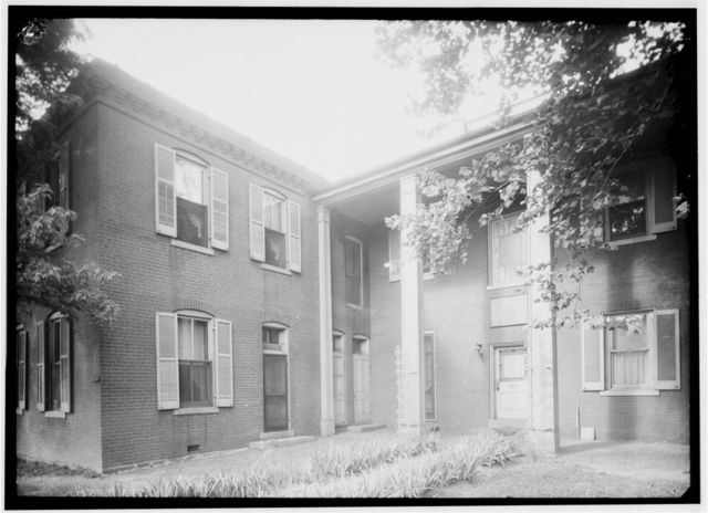 Captain Lewis Bissell Mansion, Randall Place, Saint Louis, Independent City, MO