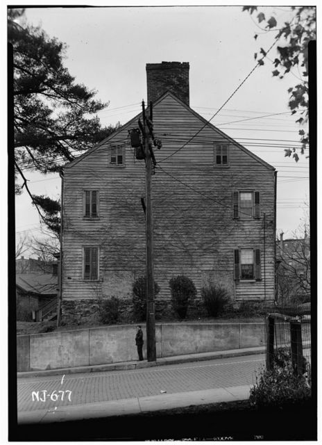 Captain Moses Este House, 62 Water Street (moved to Speedwell Village), Morristown, Morris County, NJ
