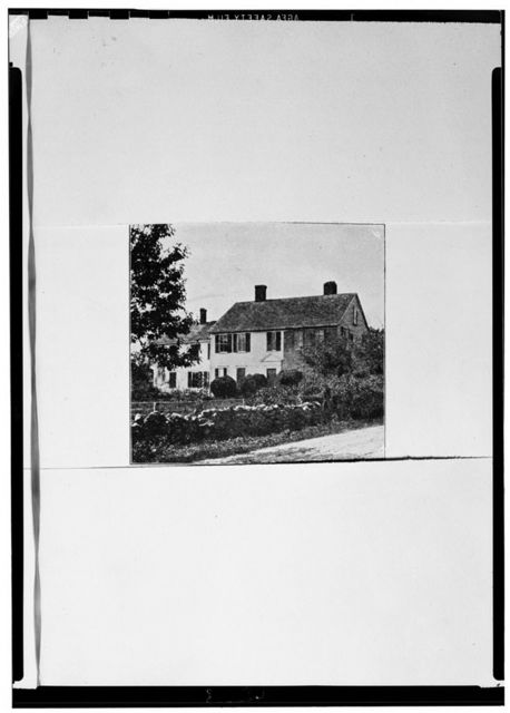 Captain Stephen Olney House, 138 Smithfield Road, North Providence, Providence County, RI