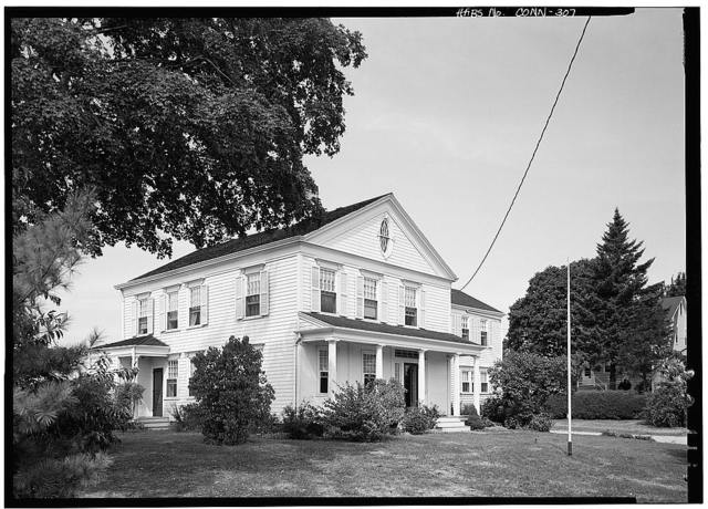 Captain Walter Thorp House, 198 Oxford Road, Southport, Fairfield County, CT