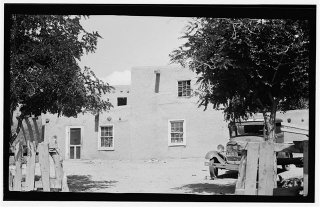 Caretaker's House, Ranchos de Taos, Taos County, NM