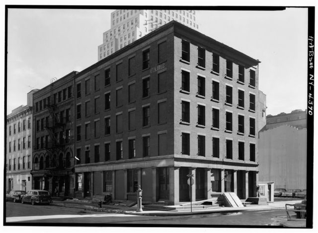 Carle Building, 151-153 Water Street, 134-136 Maiden Lane, New York, New York County, NY