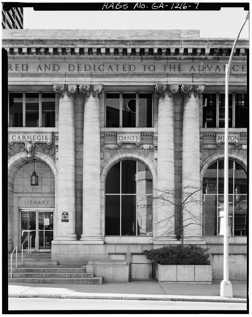 Carnegie Library of Atlanta, 126 Carnegie Way, Atlanta, Fulton County, GA