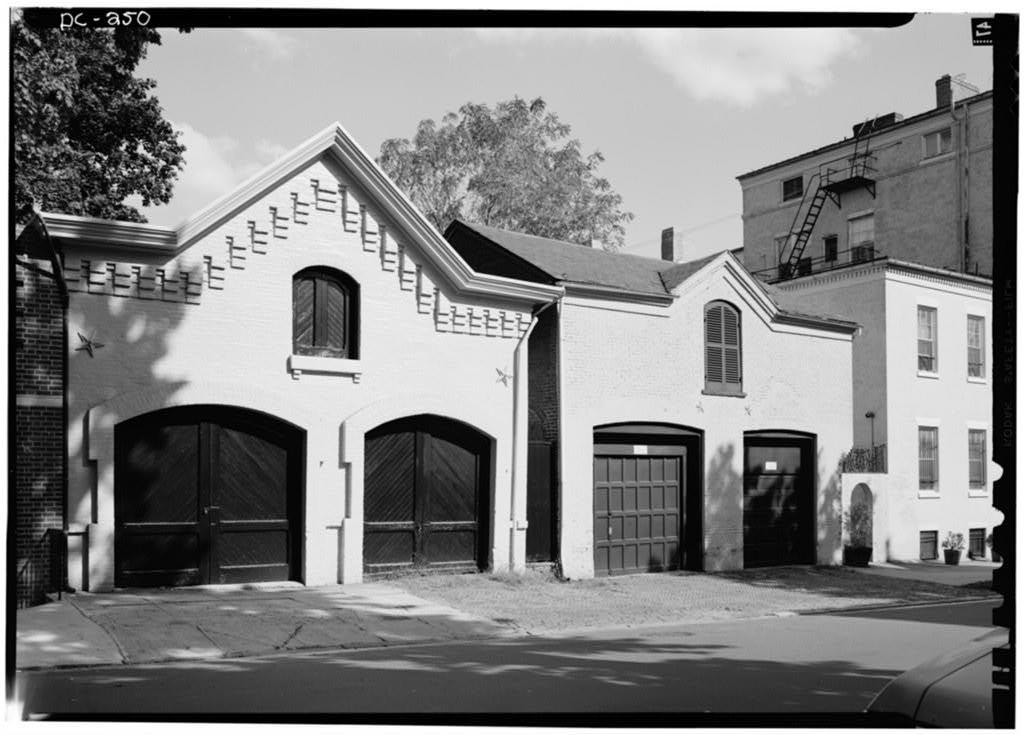 Carriage House, 1313 Thirty-first Street Northwest, Washington, District of Columbia, DC