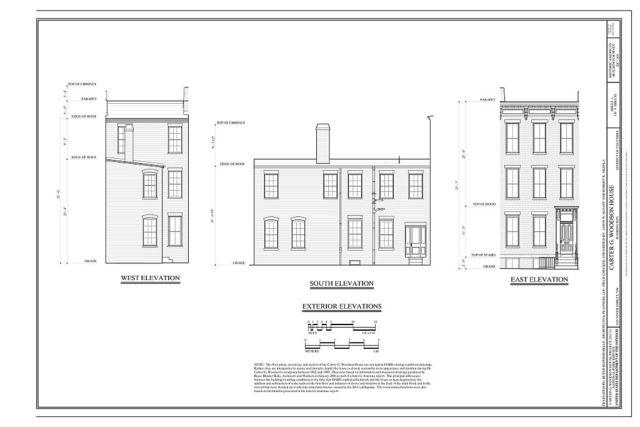 Carter G. Woodson House, 1538 Ninth Street Northwest, Washington, District of Columbia, DC