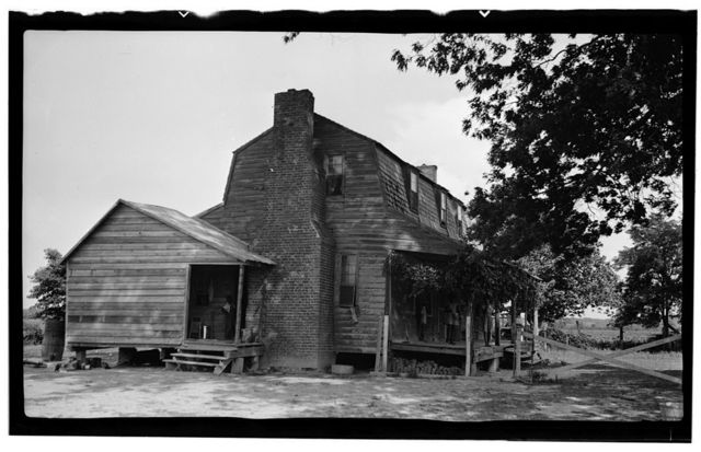 Cartwright House, NC Route 343, Old Trap, Camden County, NC