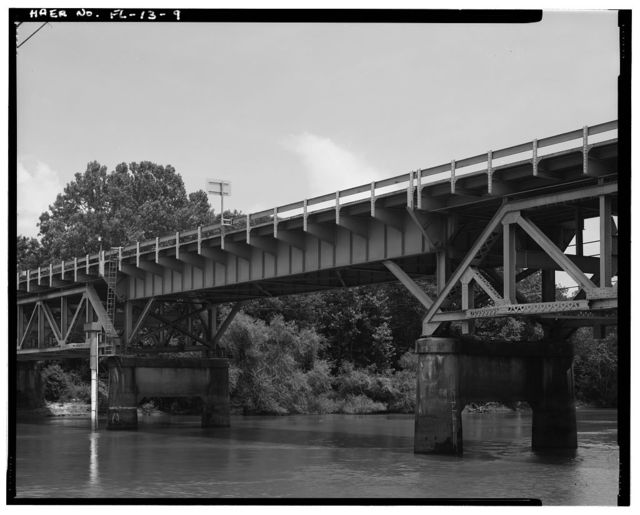 Caryville Bridge, State Route 10 (US 90) Spanning Choctawhatchee River, Caryville, Washington County, FL