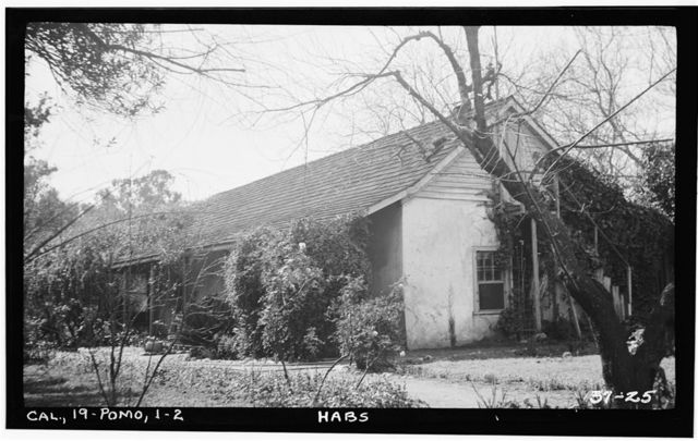 Casa de Ygnacio Palomares, 1569 North Park Avenue, Pomona, Los Angeles County, CA