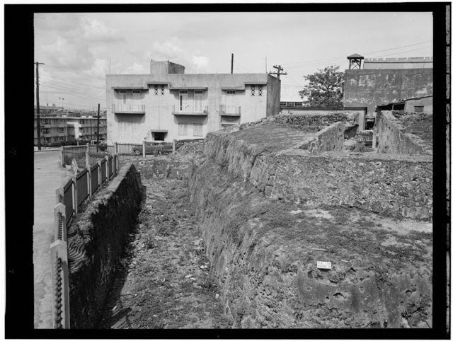 Castillo San Cristobal, Ravelin, Puerta de Tierra, San Juan, San Juan Municipio, PR