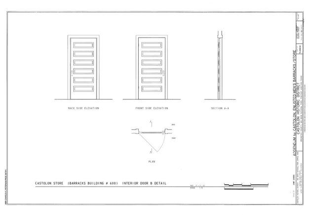 Castolon, Enlisted Men's Barracks-Store, Route 5, Castolon, Brewster County, TX
