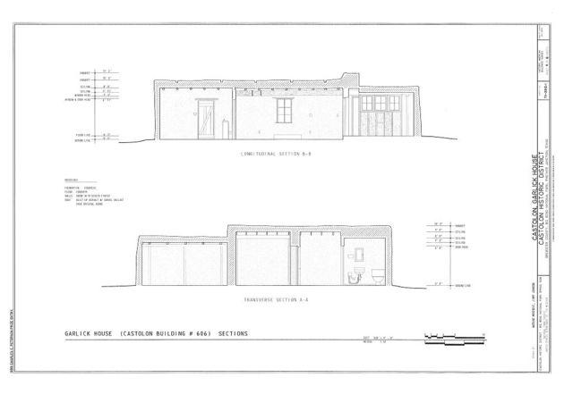 Castolon, Garlick House, Route 5, Castolon, Brewster County, TX