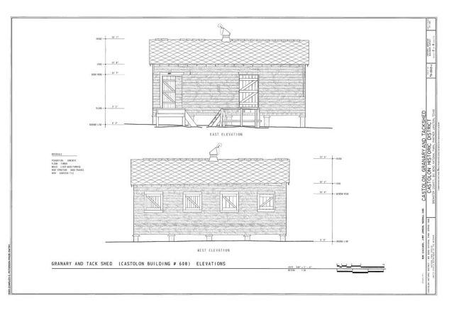 Castolon, Granary & Tack Shed, Route 5, Castolon, Brewster County, TX