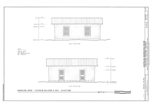 Castolon, Magdelena House, Route 5, Castolon, Brewster County, TX