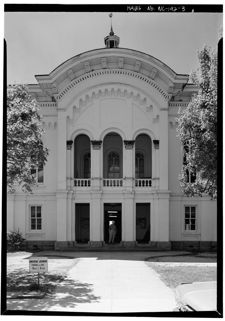 Caswell County Courthouse, Main Street, Yanceyville, Caswell