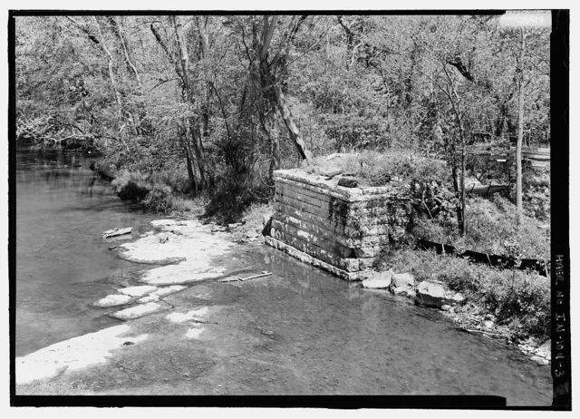 Cataract Falls Bridge, Spanning Mill Creek, bypassed section of CR 279 (Cataract Falls Unit of Leiber State Recreation Area), Cataract, Owen County, IN