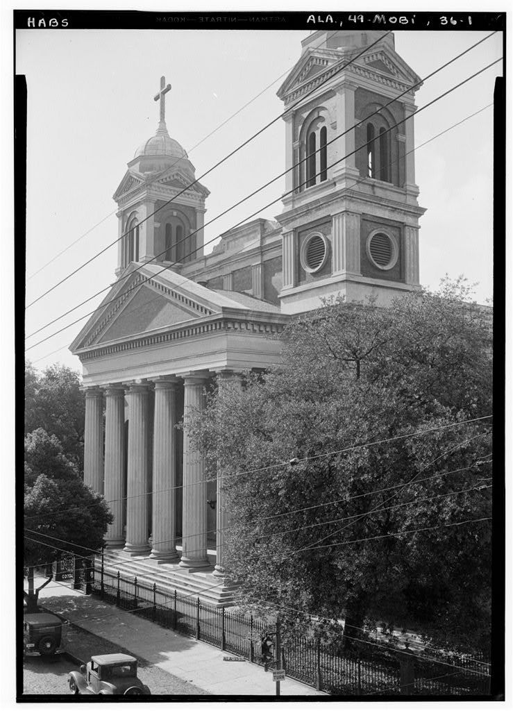 Cathedral of the Immaculate Conception, South Claiborne Street, Mobile, Mobile County, AL