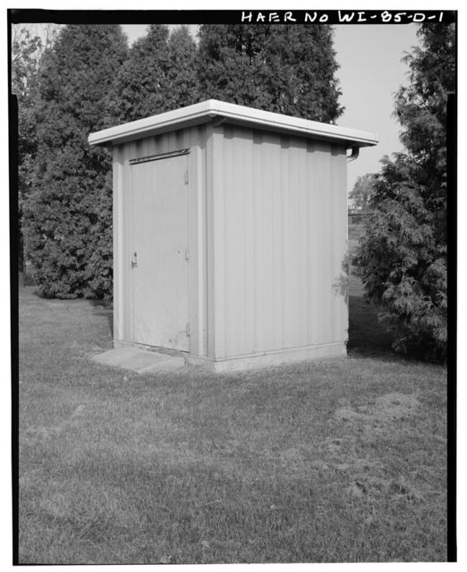 Cedars Lock & Dam, Storage Building, Approximately 50 feet Northwest of Lock, Little Chute, Outagamie County, WI
