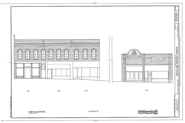 Center & Chestnut Streets, Le Roy, McLean County, IL