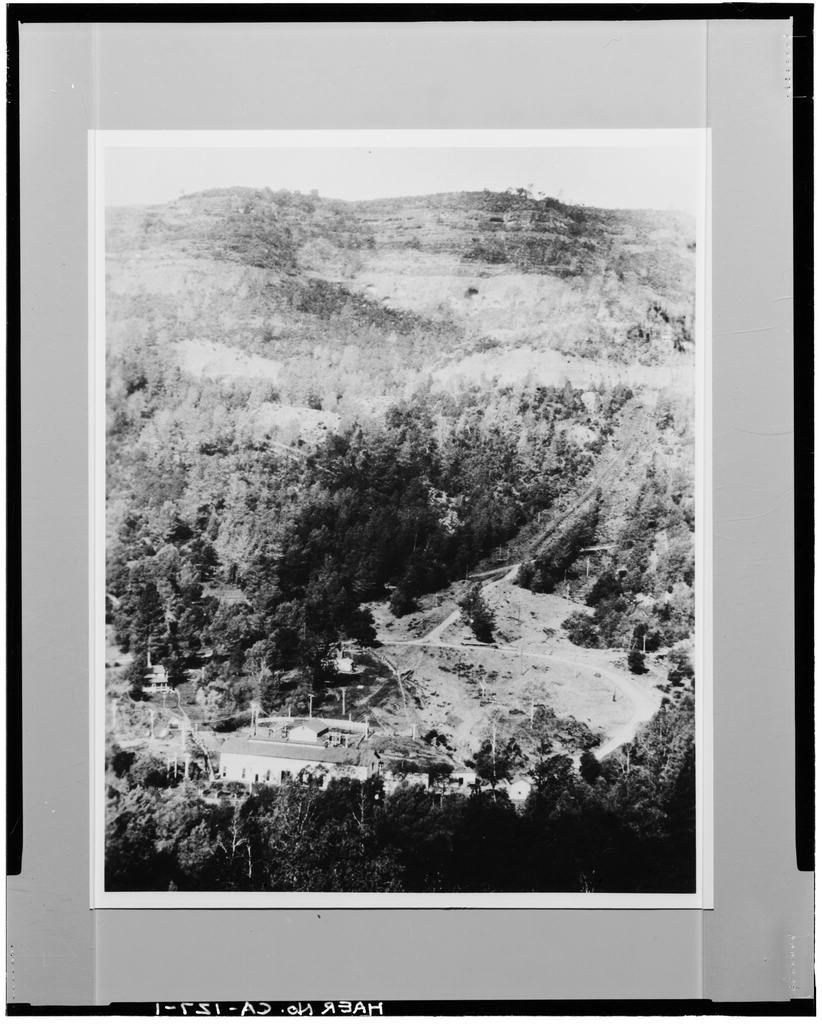 Centerville Hydroelectric System, Butte Creek, Centerville, Butte County, CA