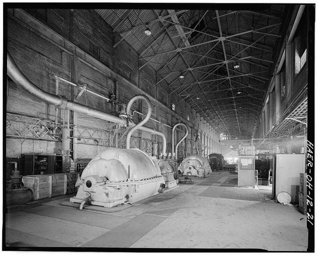 Central Furnaces, 2650 Broadway, east bank of Cuyahoga River, Cleveland, Cuyahoga County, OH