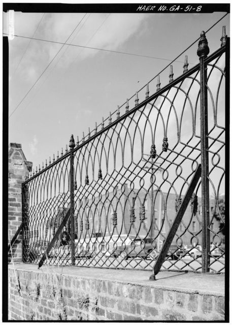 Central of Georgia Railway, Cotton Yard Gates, West Broad Street, Savannah, Chatham County, GA