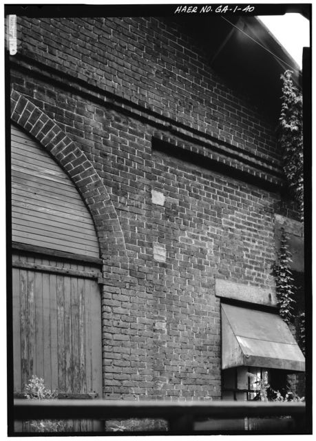 Central of Georgia Railway, Savannah Repair Shops & Terminal Facilities, Blacksmith Shop, Bounded by West Broad, Jones, West Boundary & Hull Streets, Savannah, Chatham County, GA