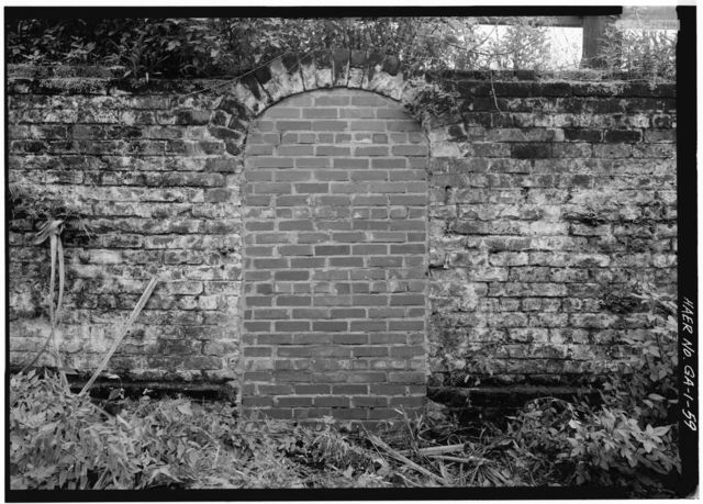 Central of Georgia Railway, Savannah Repair Shops & Terminal Facilities, Brick Storage Vaults under Jones Street, Bounded by West Broad, Jones, West Boundary & Hull Streets, Savannah, Chatham County, GA